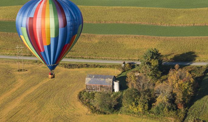Ballon fahren Mittenwalde