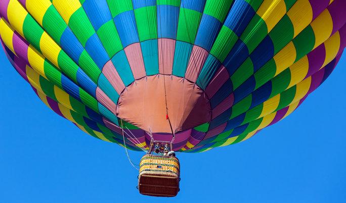 Ballonfahrt um Bad Homburg von der Höhe und Usingen