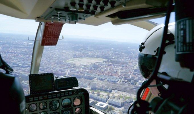 Hubschrauber Rundflug in Weiden in der Oberpfalz
