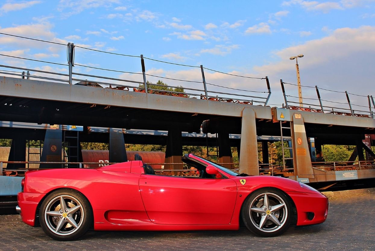Ferrari 360 selber fahren in Kassel - 30 Minuten