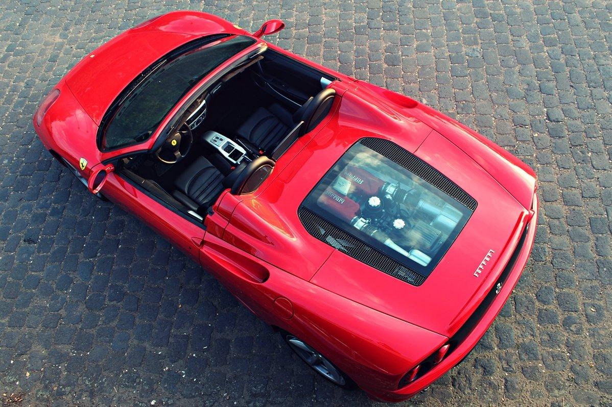 Ferrari 360 selber fahren in Hamburg - 30 Minuten