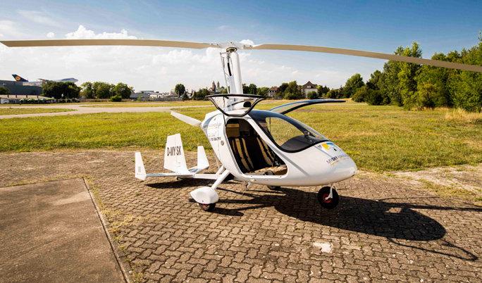 Gyrocopter Rundflug in Mannheim
