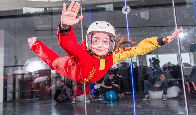 Indoor Skydiving in München