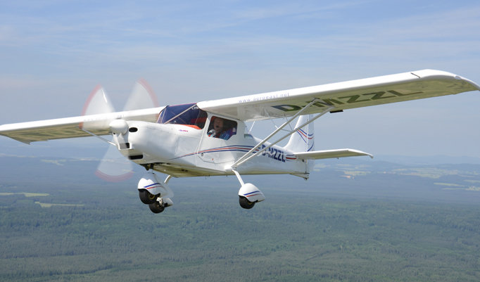 Rundflug im Flugzeug in der Region Ravensburg