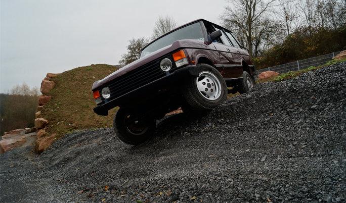 Range Rover Offroad fahren