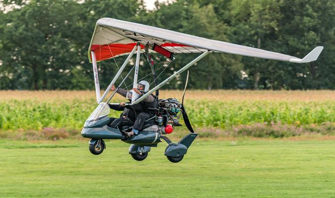 Start zum Trike Rundflug