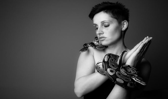 Shooting mit echten Schlangen