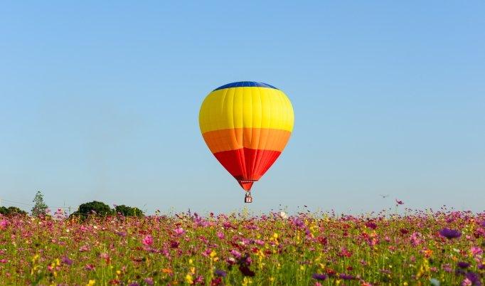 Ballonfahrt in Uehlfeld